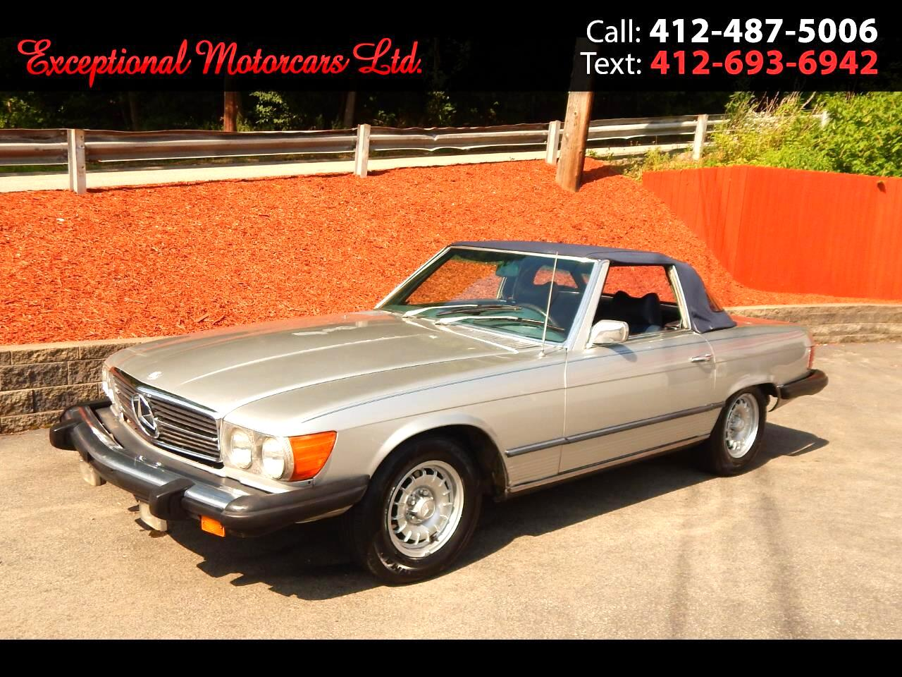 1974 Mercedes-Benz 450 SL Convertible