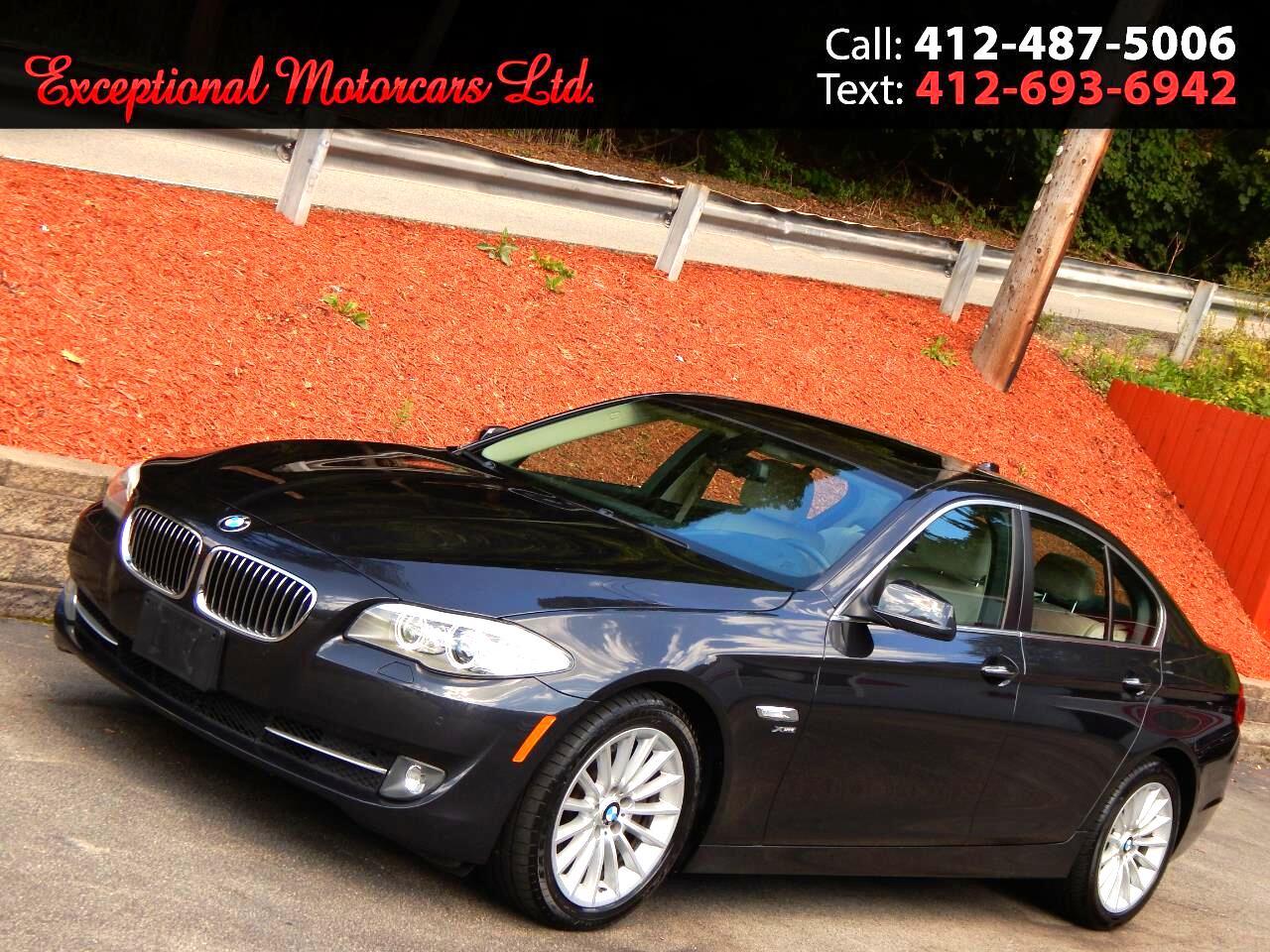 2012 BMW 5 Series 4dr Sdn 535i xDrive AWD