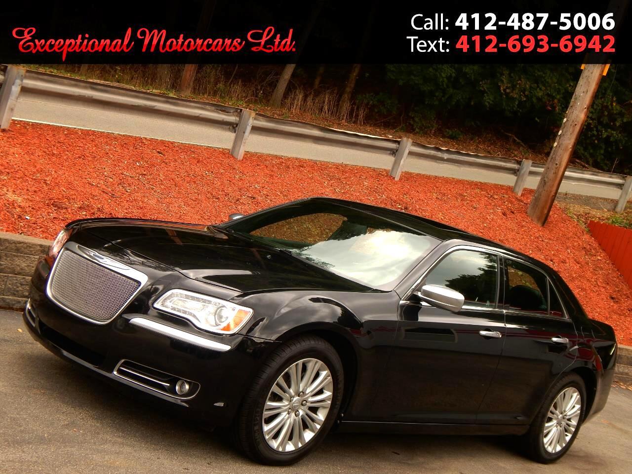 2013 Chrysler 300 4dr Sdn 300C John Varvatos Luxury Edition AWD