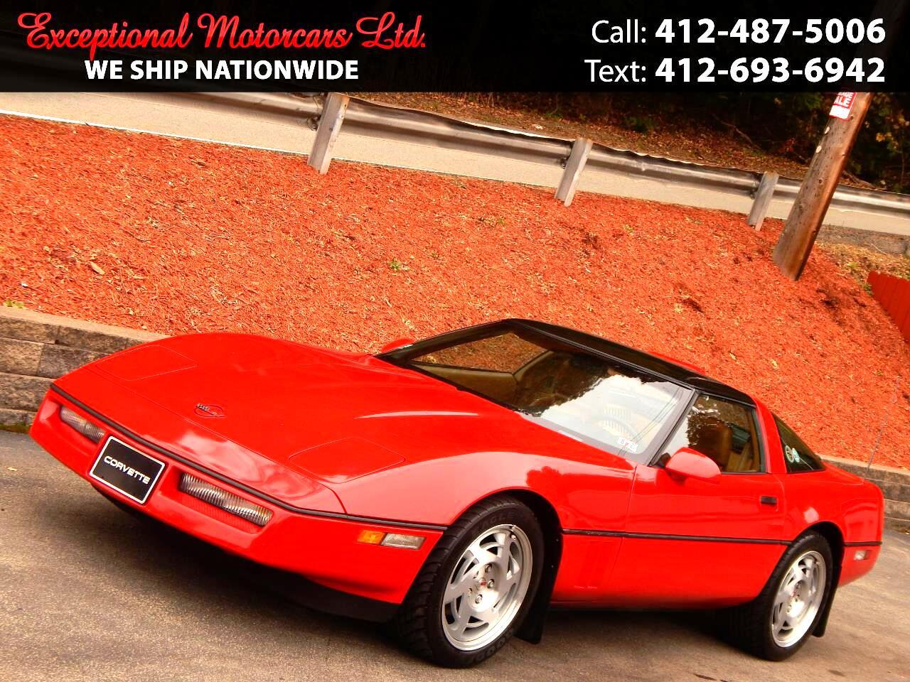 Chevrolet Corvette 2dr Coupe Hatchback 1990