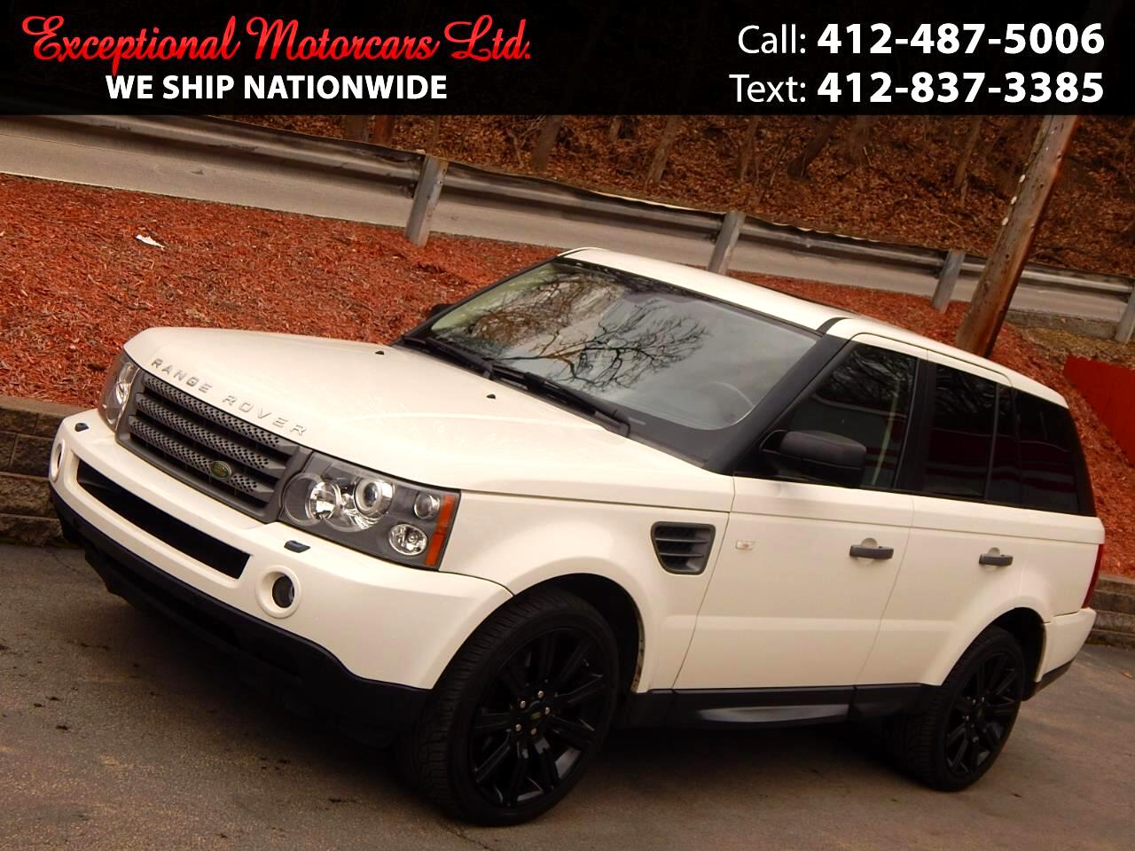 Land Rover Range Rover Sport 4WD 4dr HSE 2009