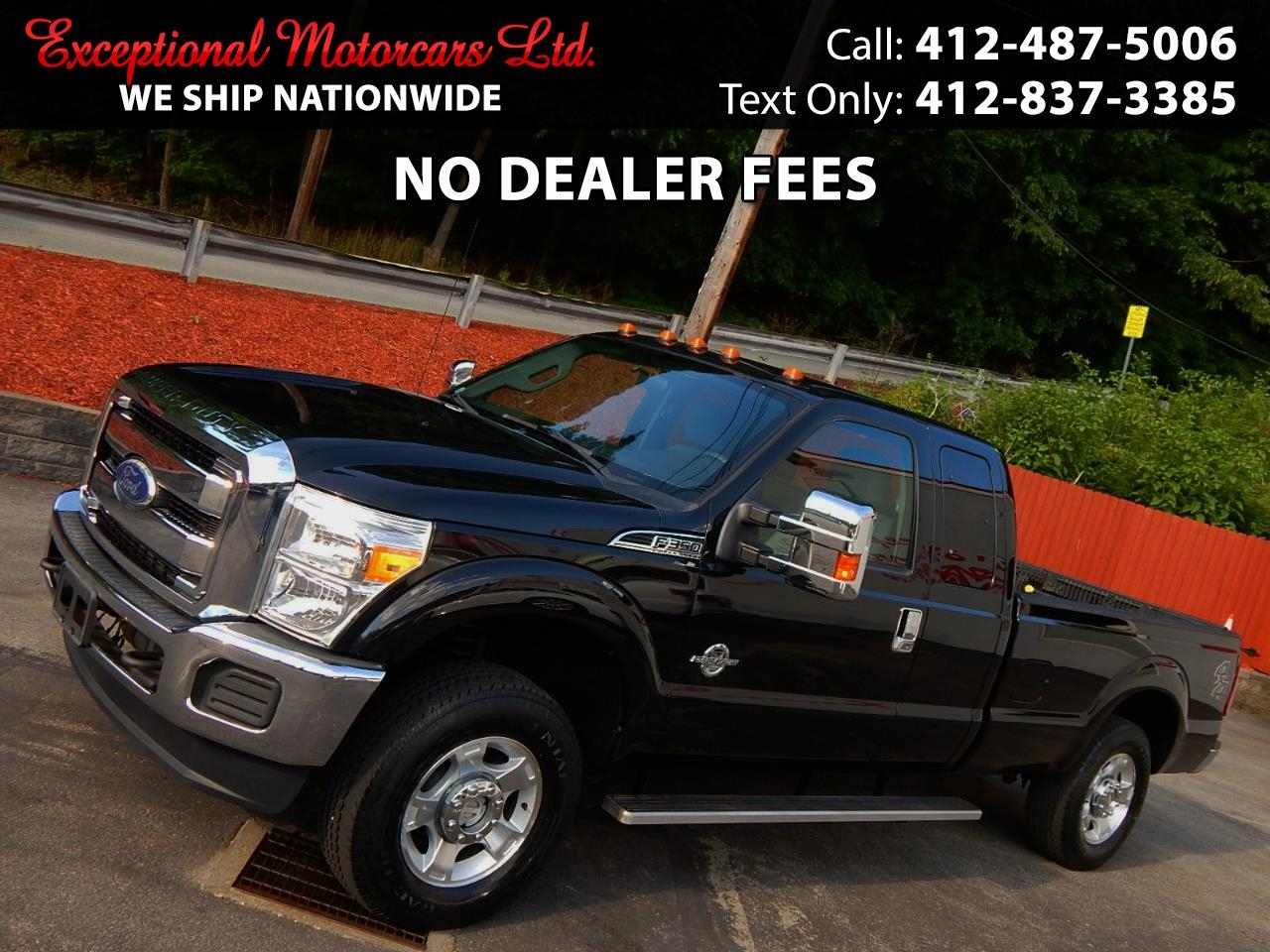 "Ford Super Duty F-350 SRW 4WD SuperCab 142"" XLT 2011"