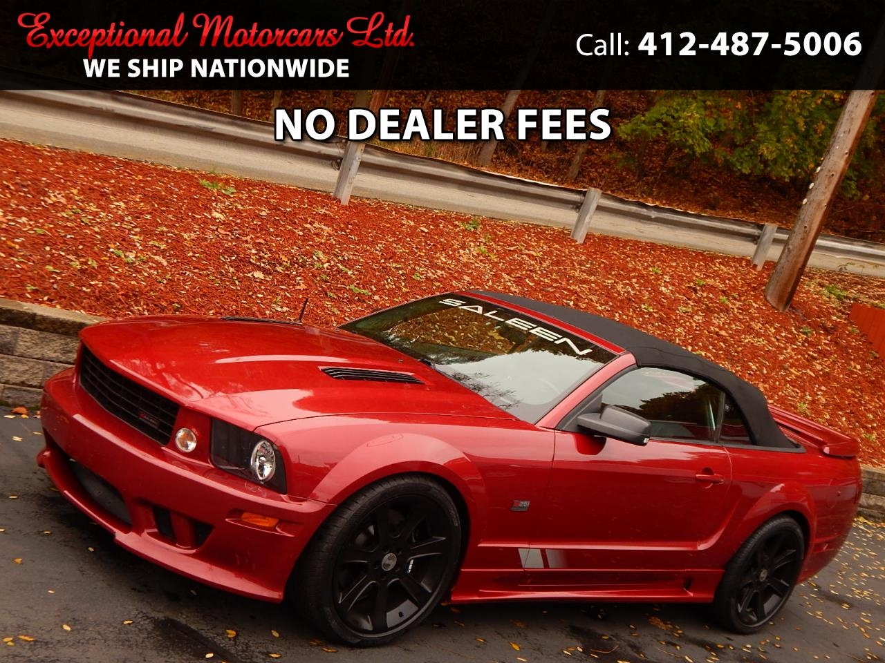 Ford Mustang S281 Saleen Convertible 2007