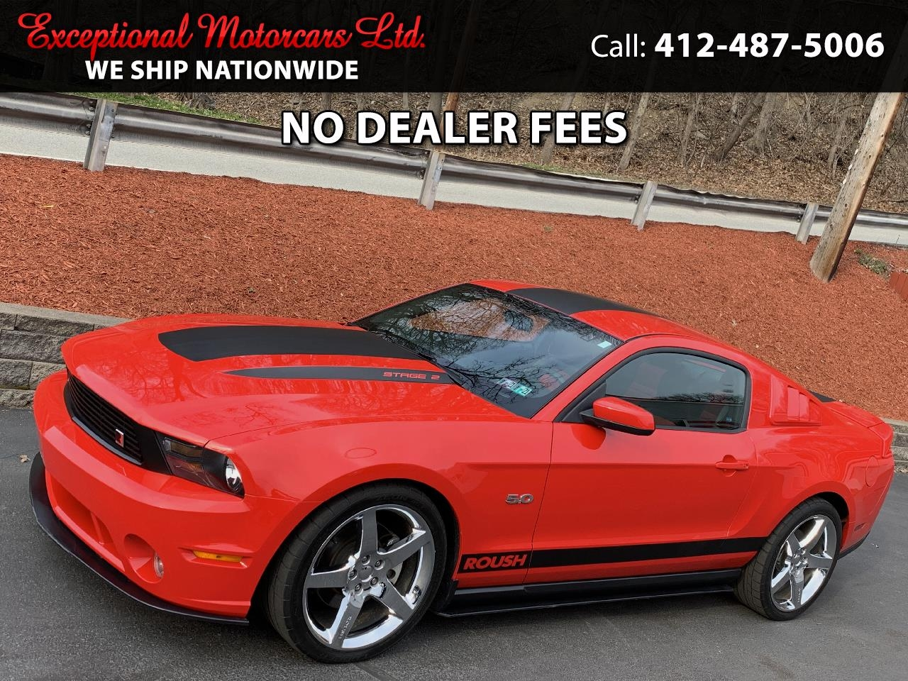 Ford Mustang 2dr Cpe GT 2011