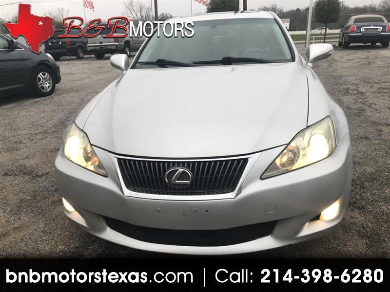 Lexus IS IS 250 6-Speed Sequential 2010