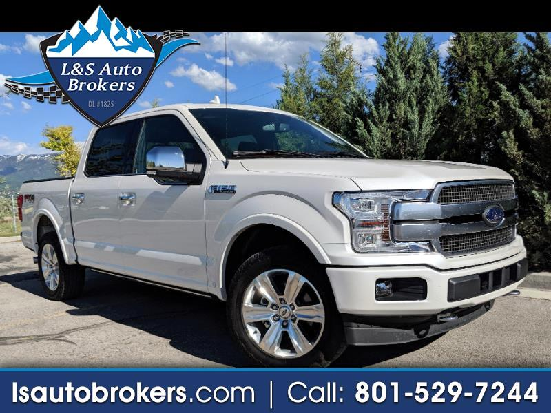 2018 Ford F-150 Platinum SuperCrew 5.5-ft. Bed 4WD