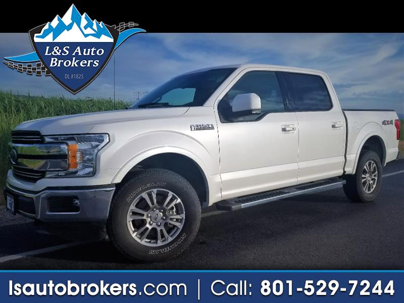 "2018 Ford F-150 4WD SuperCrew 145"" Lariat"
