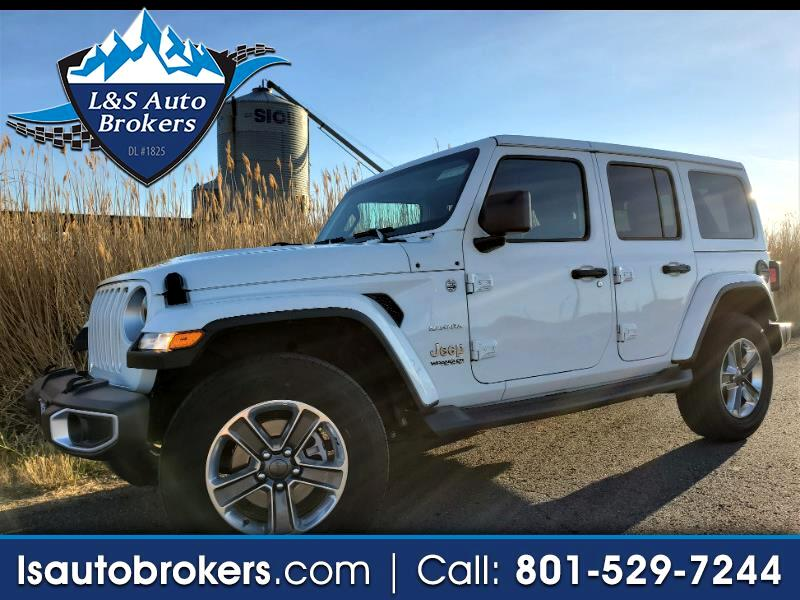 Jeep Wrangler 4WD 4dr Unlimited Sahara 2020