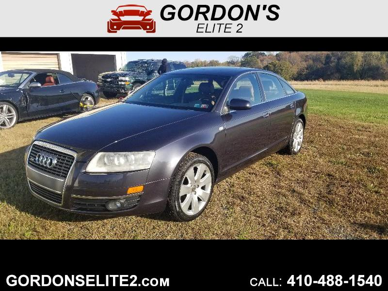 Audi A6 3.2 with Tiptronic 2006