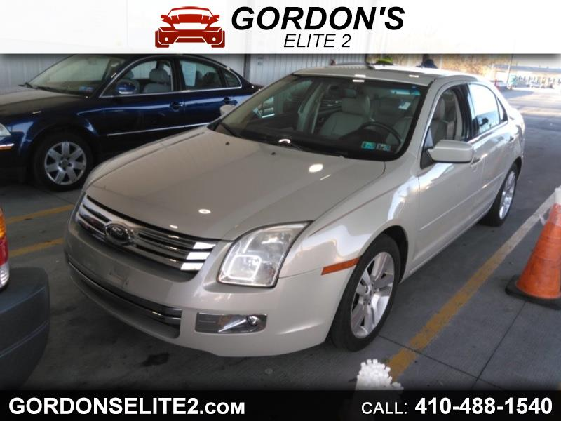 Ford Fusion V6 SEL AWD 2008