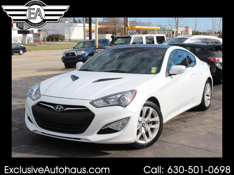 2015 Hyundai Genesis Coupe 2dr 3.8L Man Grand Touring