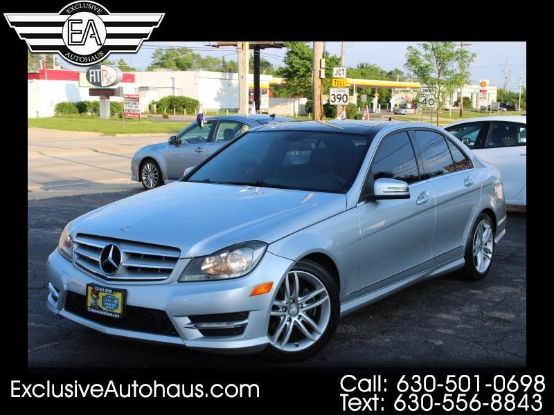 2012 Mercedes-Benz C-Class C300 4MATIC Luxury Sedan