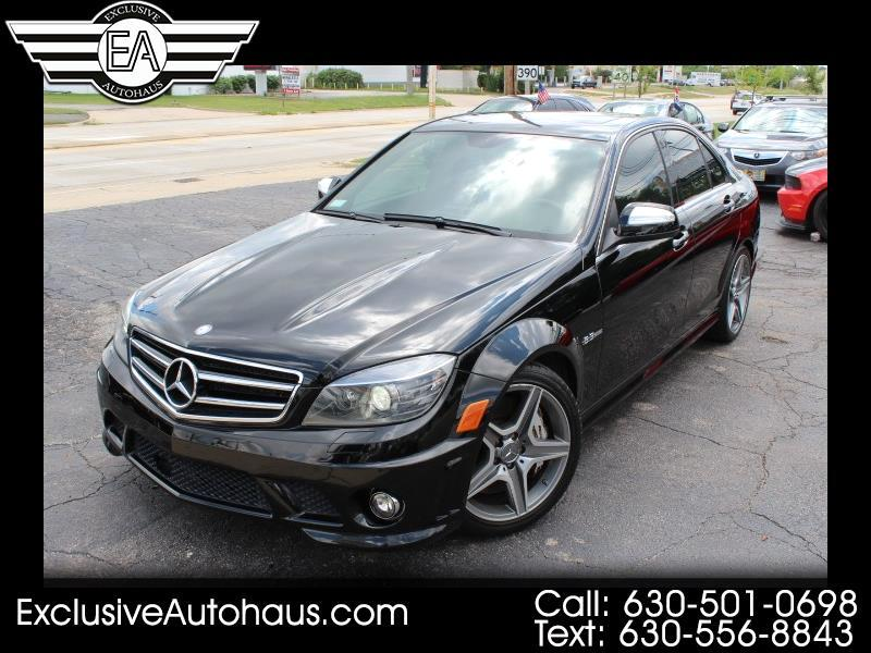 2009 Mercedes-Benz C-Class C63 AMG Sport Sedan