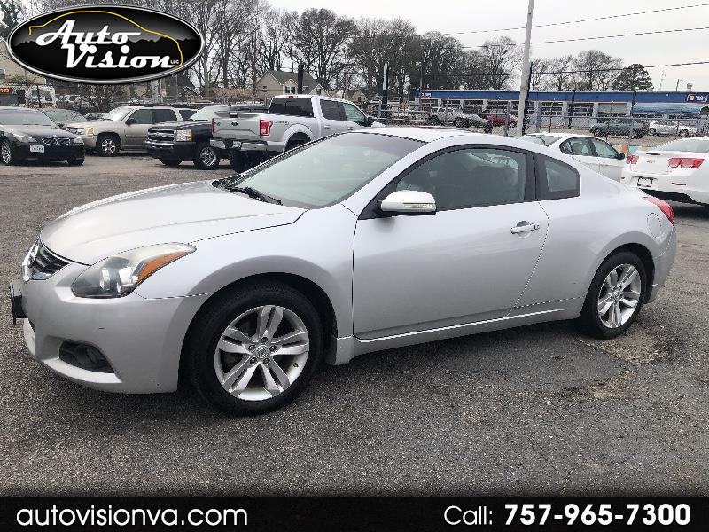 2011 Nissan Altima 2.5 S 6M/T Coupe