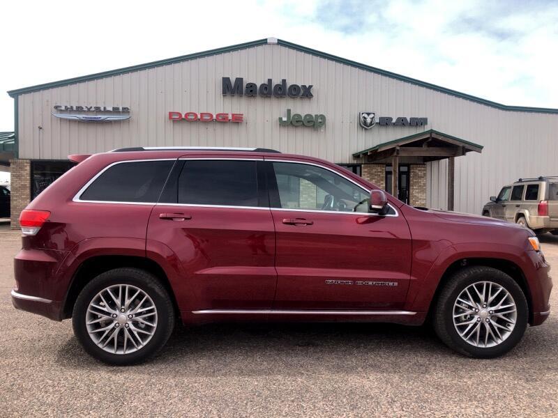 2018 Jeep Grand Cherokee Summit 4WD