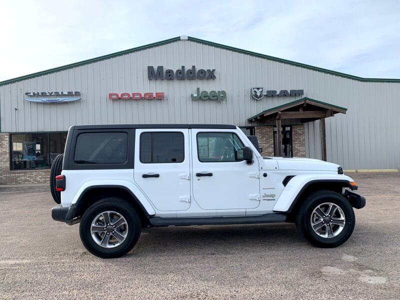 2019 Jeep Wrangler Unlimited 4WD 4dr Sahara