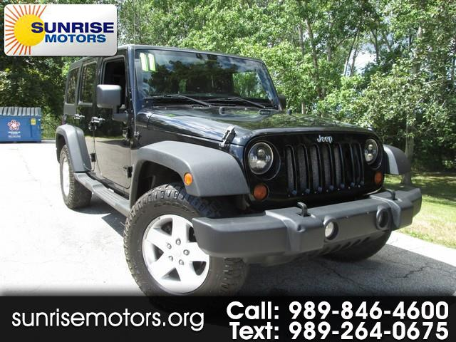 2011 Jeep Wrangler Unlimited Sport 4WD