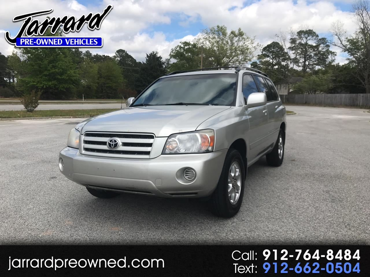 2006 Toyota Highlander 4dr V6 w/3rd Row (Natl)