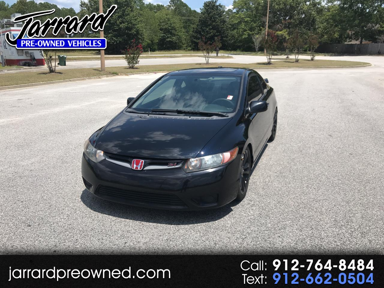 2007 Honda Civic Si 2dr Cpe Manual