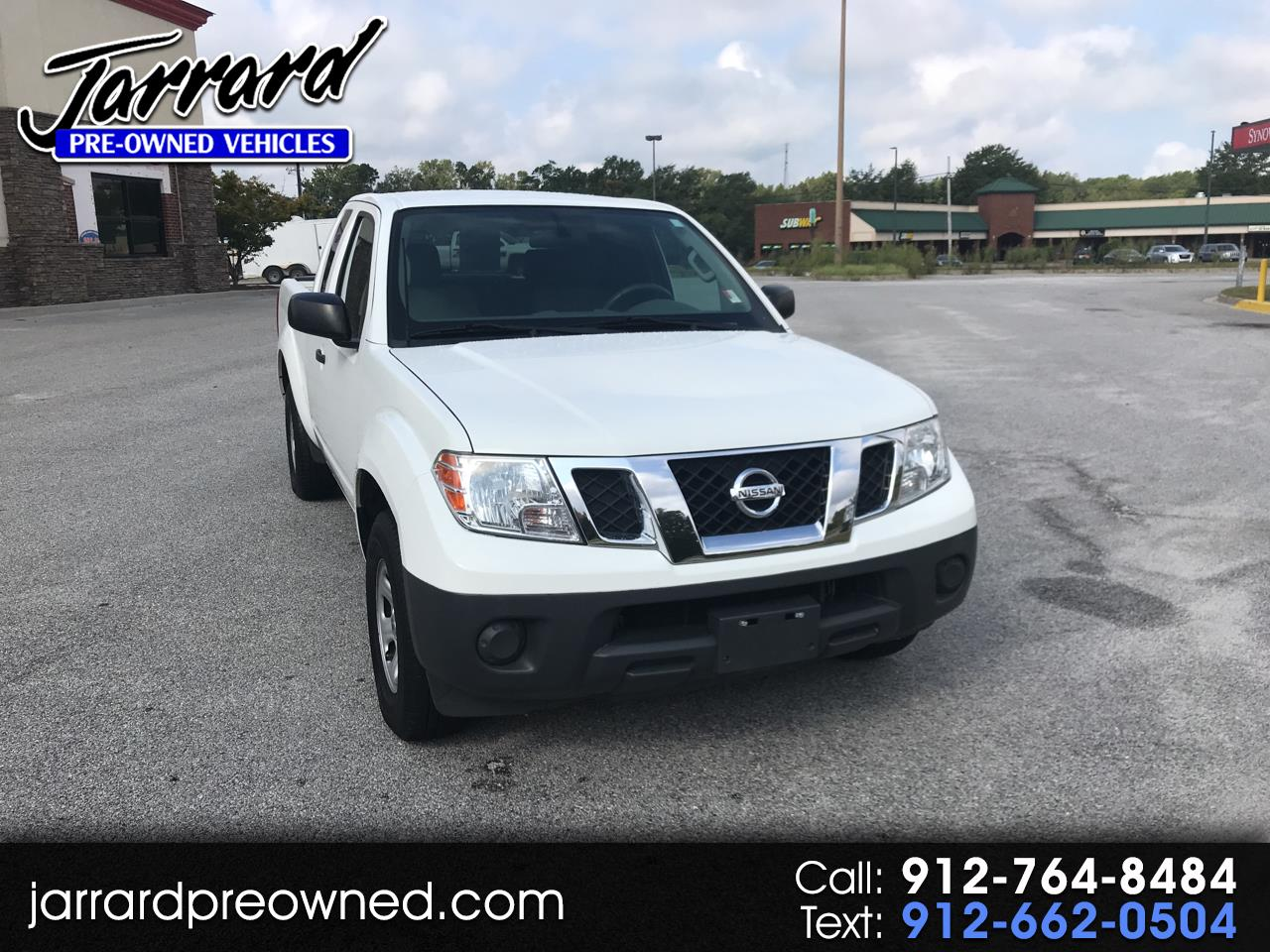 2013 Nissan Frontier 2WD King Cab I4 Auto S