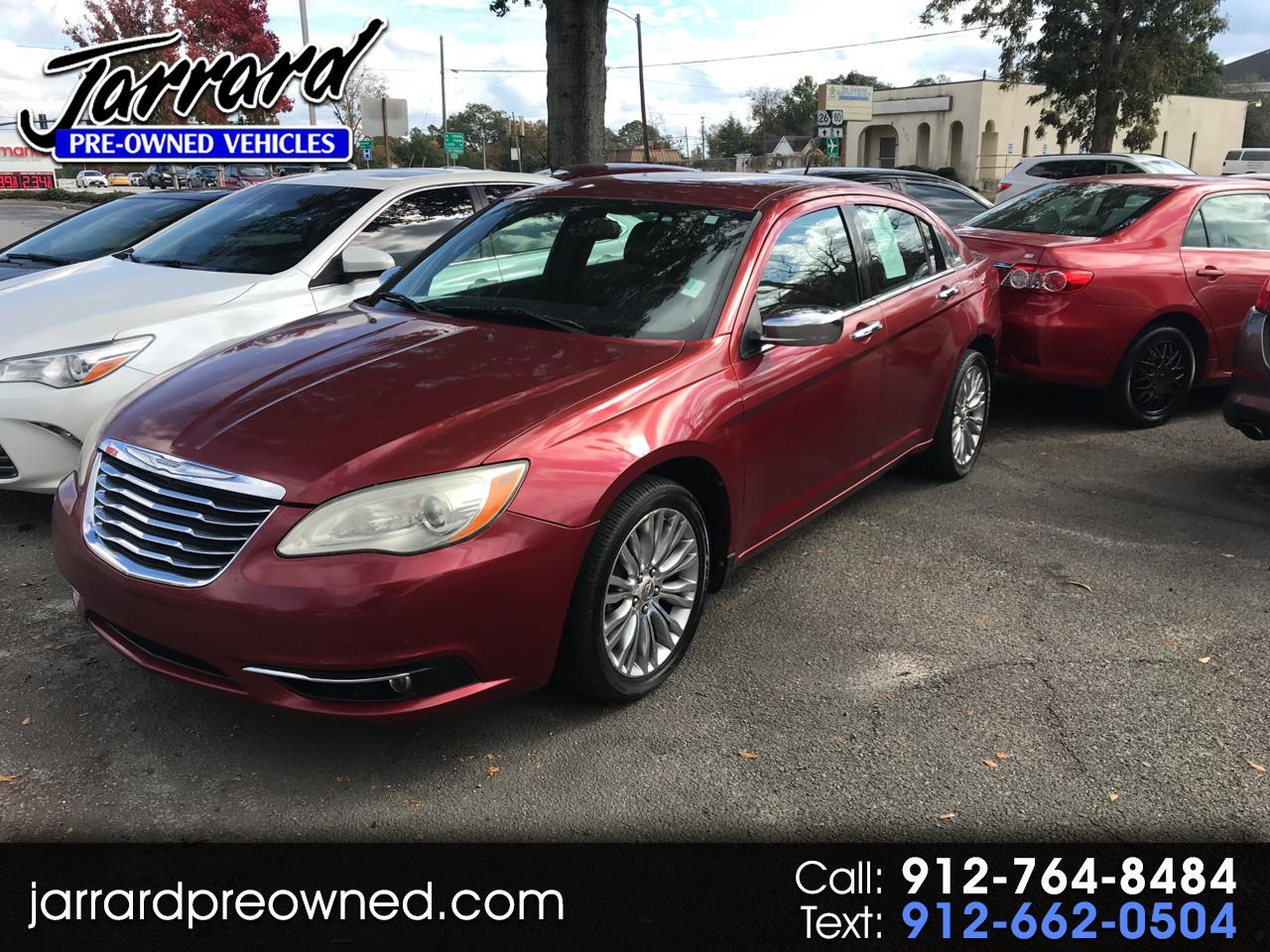 2011 Chrysler 200 4dr Sdn Limited