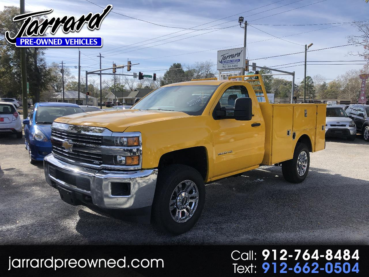 "Chevrolet Silverado 3500HD Built After Aug 14 2WD Reg Cab 133.6"" Work Truck 2015"