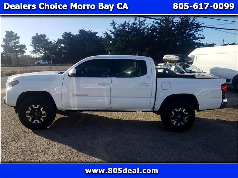 Toyota Tacoma SR5 Double Cab Long Bed I4 6AT 2WD 2020