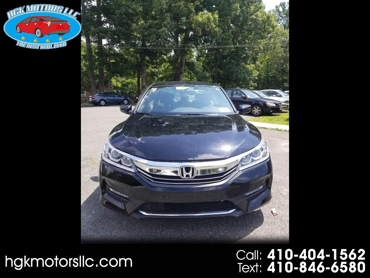 Honda Accord Sport Sedan CVT 2016