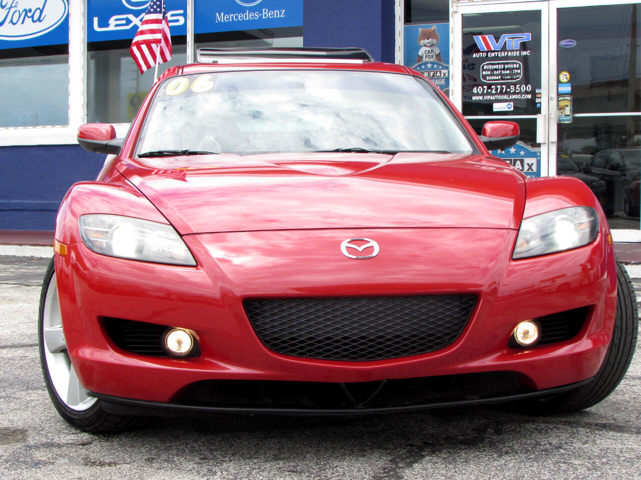 2006 Mazda RX-8 4dr Cpe 6-Spd Manual