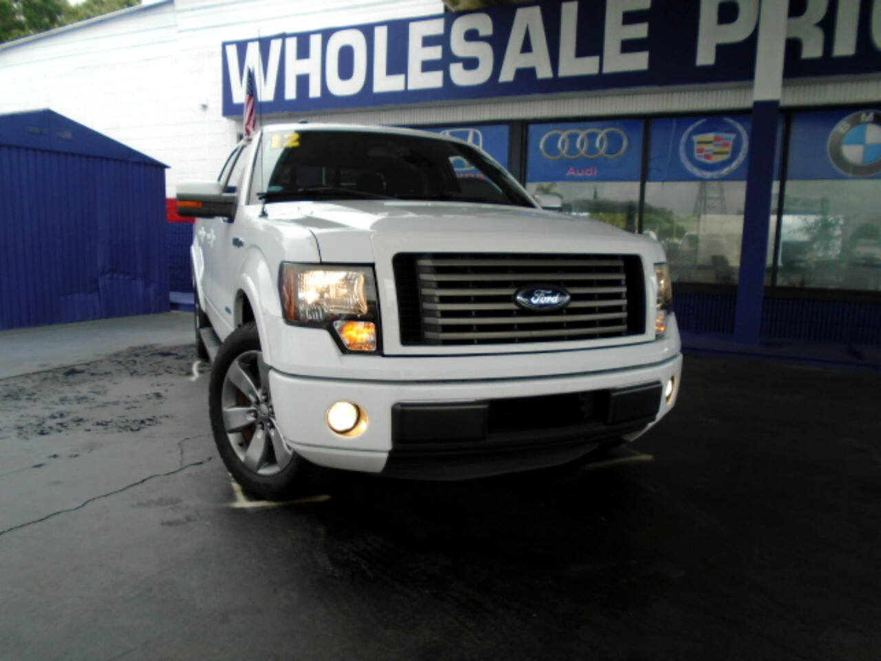 "Ford F-150 2WD SuperCrew 145"" FX2 2012"