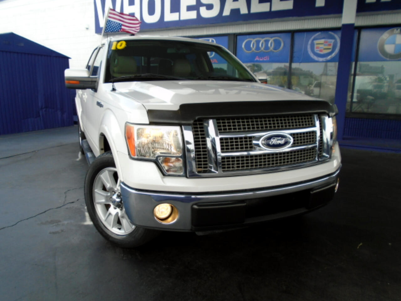 "Ford F-150 2WD SuperCrew 145"" Lariat 2010"