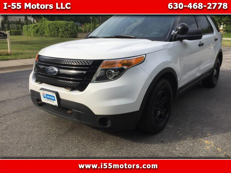 2013 Ford Explorer Police 4WD