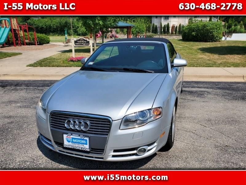 Audi A4 2.0T Cabriolet with Multitronic 2008