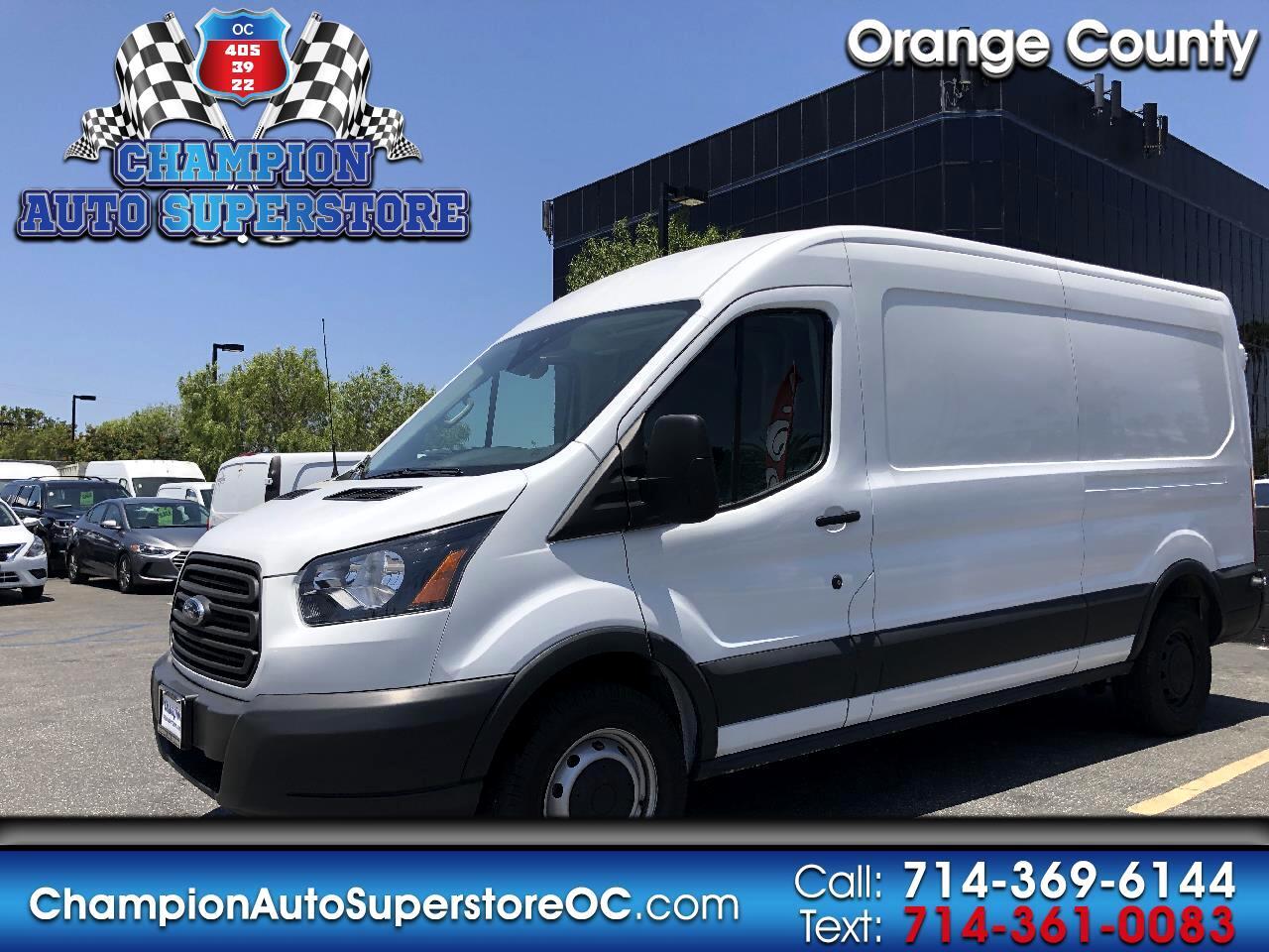 "2018 Ford Transit Van T-250 148"" Med Rf 9000 GVWR Sliding RH Dr"