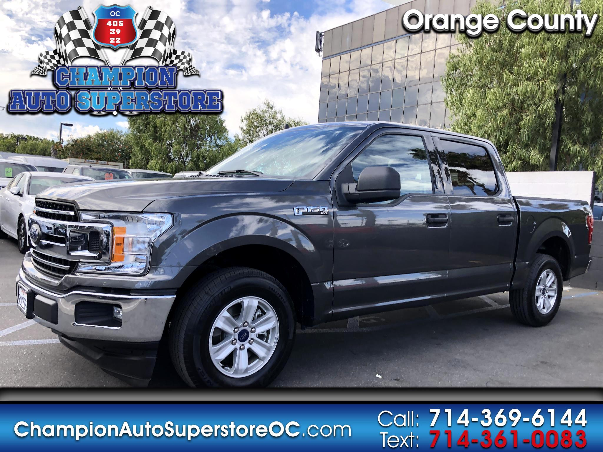 "Ford F-150 2WD SuperCrew 139"" XLT 2019"