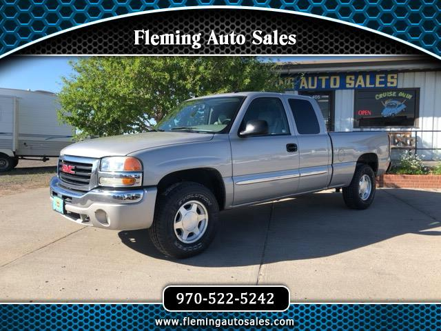 2004 GMC Sierra 1500 SLT Ext. Cab Short Box 4WD
