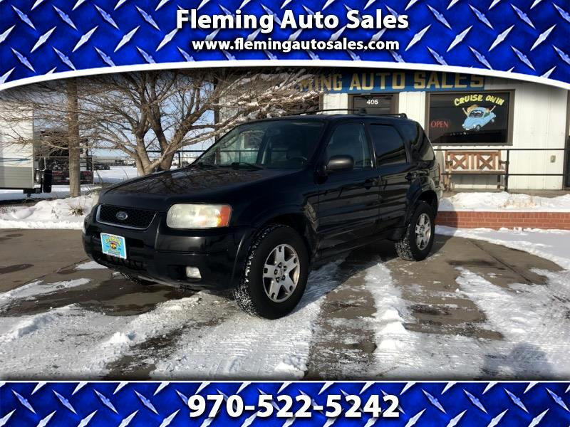 """2003 Ford Escape 4dr 103"""" WB Limited 4WD"""