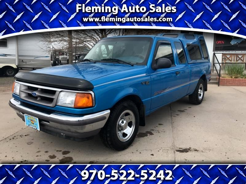 "1996 Ford Ranger Supercab 125.2"" WB SPLASH"