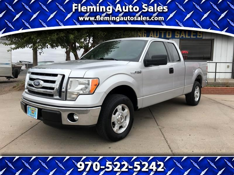 "Ford F-150 2WD Supercab 133"" XLT 2012"
