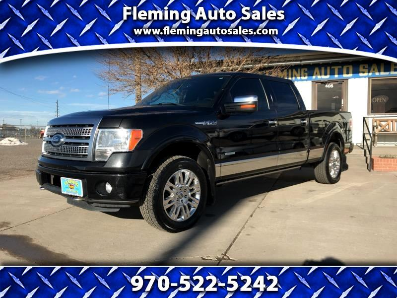 "Ford F-150 4WD SuperCrew 145"" Platinum 2012"