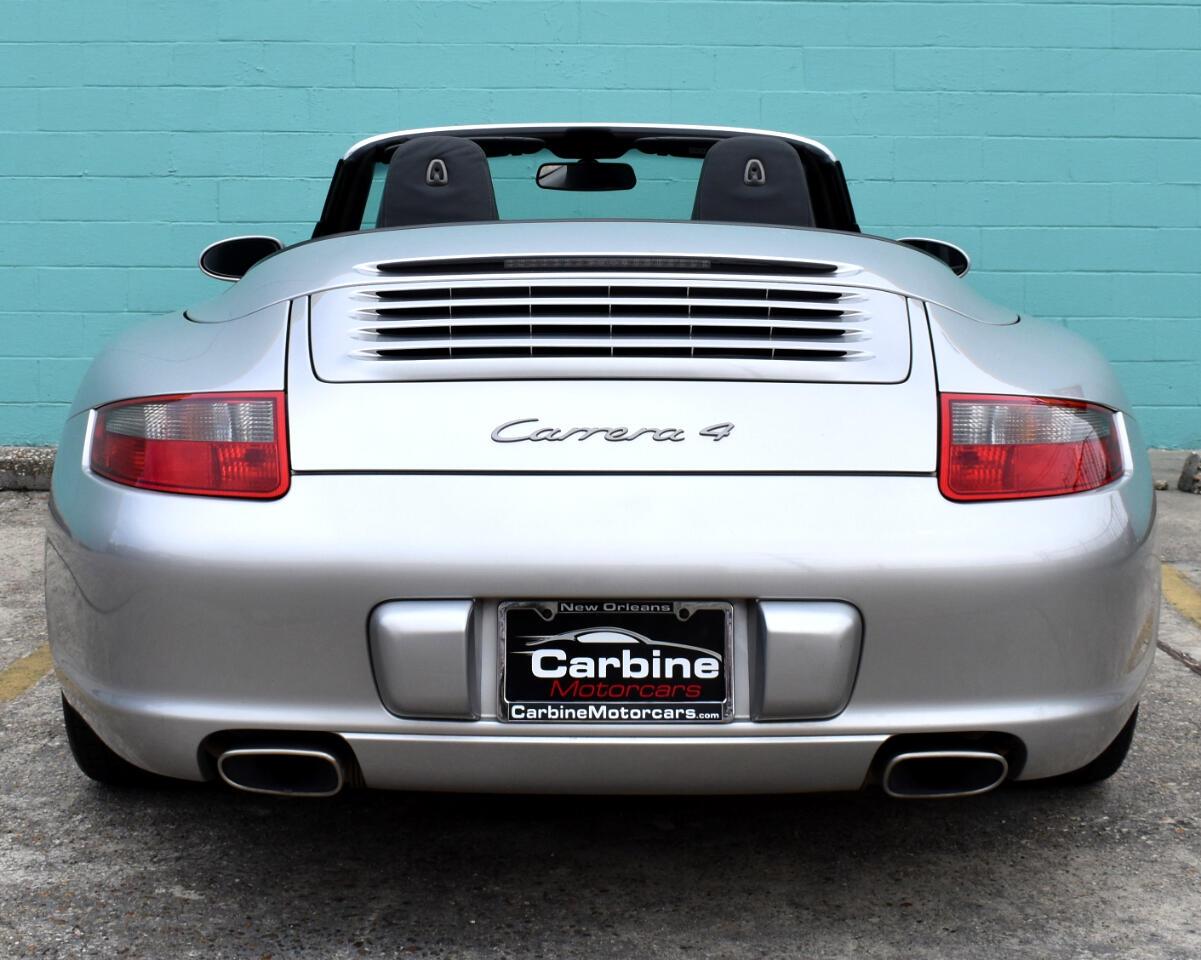 2006 Porsche 911 Carrera 2dr Cabriolet Carrera 4