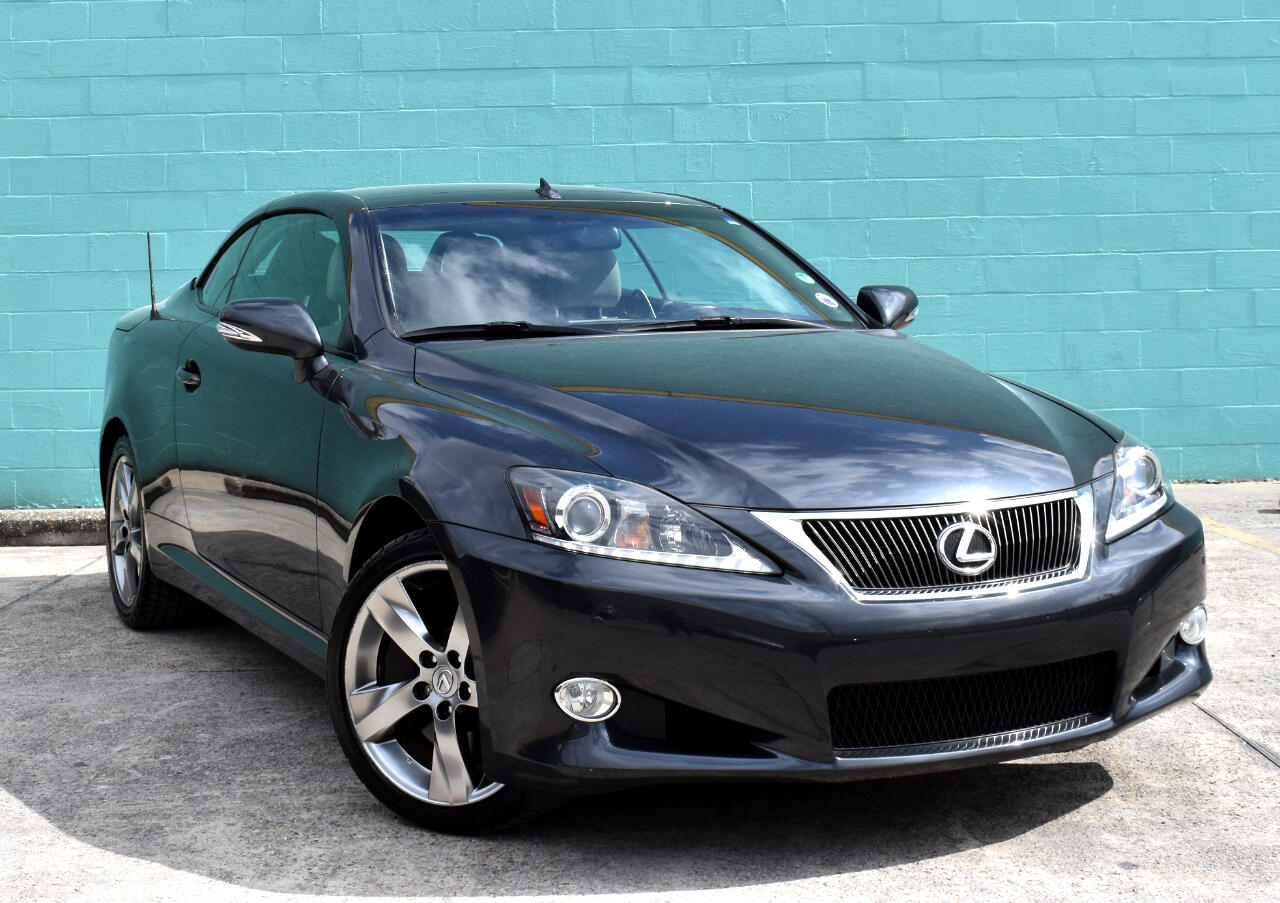 2011 Lexus IS 350C 2dr Conv