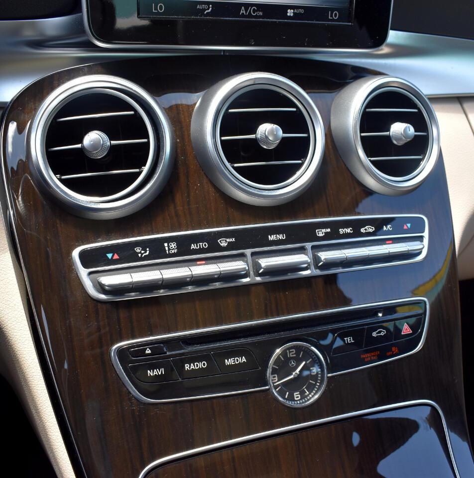 2016 Mercedes-Benz C-Class 4dr Sdn C 300 Sport RWD