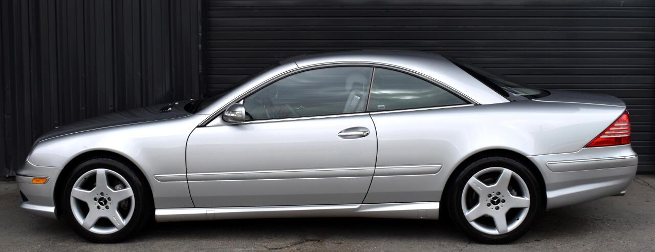 2005 Mercedes-Benz CL-Class 2dr Cpe 5.0L