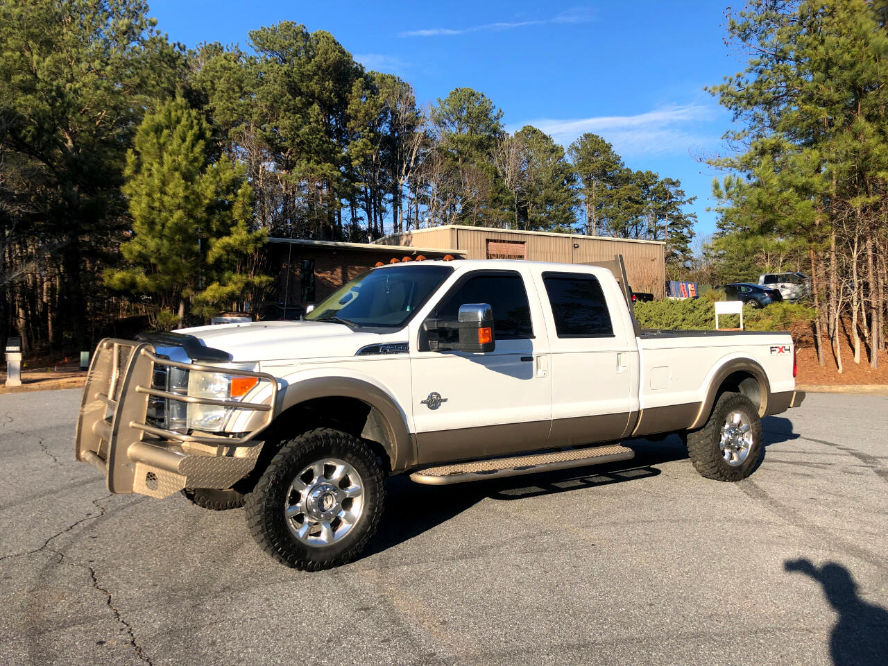 2011 Ford F-250 SD FX4 Crew Cab Long Bed 4WD