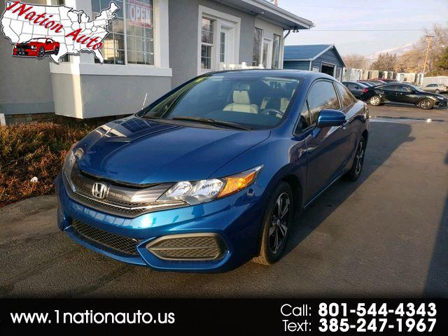 Honda Civic EX Coupe CVT 2015