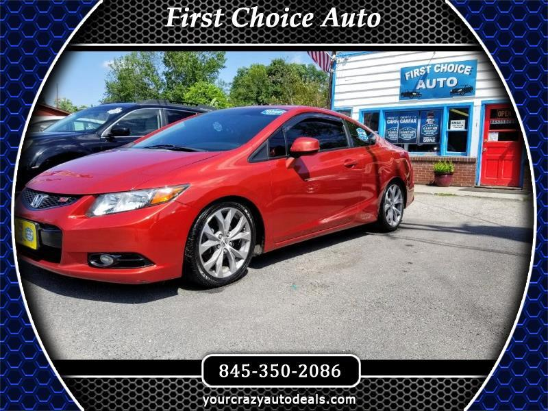 2012 Honda Civic Si Coupe 6-Speed MT