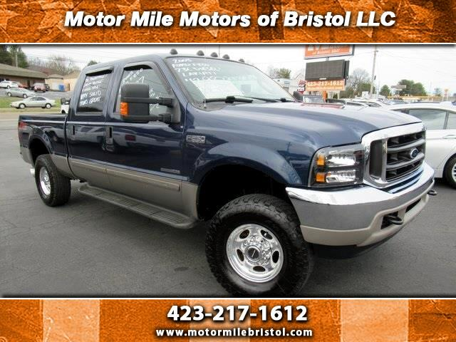 Ford F-250 SD Lariat Crew Cab Short Bed 4WD 2003