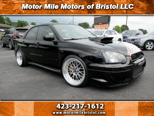 used 2004 subaru impreza sedan natl 2 5 wrx sti w gold wheels for sale in bristol tn 37620 motor mile motors used 2004 subaru impreza sedan natl 2