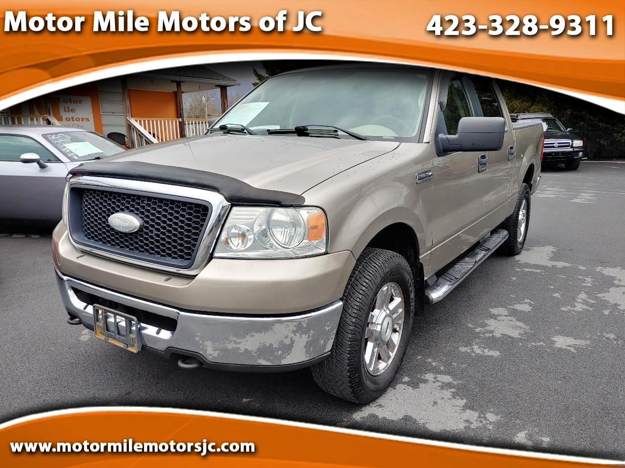 "Ford F-150 SuperCrew 139"" XLT 4WD 2006"
